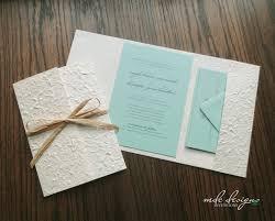 Diy Rustic Destination Pocketfold Invitation Kit Eco Friendly Wedding Kits