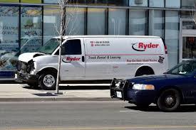 100 Truck Rental Tucson Photos Van Driver Jumps Curb Runs Down Pedestrians In Toronto AP