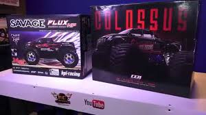 100 Hpi Rc Trucks RC ADVENTURES HPi Savage Flux HP Vs CEN Colossus GSTE 18 Scale