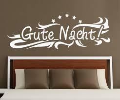 wandtattoo gute nacht spruch aufkleber schlafzimmer kinderzimmer 1d175 wandtattoos und leinwandbilder günstig mydruck store