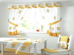Kitchen Curtain Ideas Diy by Trendy How To Make Simple Kitchen Curtains U2013 Muarju