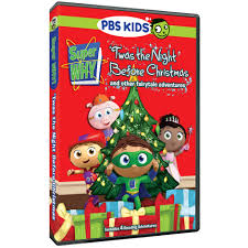 Twas The Night Before Halloween Book by Super Why U0027twas The Night Before Christmas And Other Fairytale