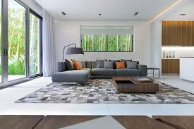 Area Rugs Awesome Large Brown Plaid Rug Put Under Square Wooden Coffee Table Also Comfy Grey Sectional Sofa For White Living Room Decor Navy Tartan