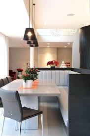 Dining Room Booth Seating Booths Contemporary With Modern Home Cone Pendant Diner