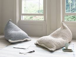 Modern Knitted Bean Bag Hand Stockinette Wedge Pearl Pattern ... Believe It Or Not 10 Surprisingly Stylish Beanbag Chairs Best Oversized Bean Bag Ikea 24097 Huge Recall Of Bean Bag Chairs Due To Suffocation And Kaiyun Thick Washable King Moon Beanbag Chair Ikea Bedroom Fniture Alluring Target For Mesmerizing Sofa Ikeas New Ps 2017 Spridd Collections Are Crazy Good Chair Unique Circo With Overiszed Design And Facingwalls Supersac Giant