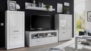 schrank bianco highboard wohnzimmerschrank kommode in weiß