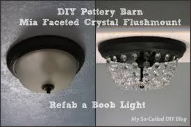 My So-Called DIY Blog: DIY Pottery Barn Mia Faceted-Crystal ... Remodelaholic Update A Dome Ceiling Light With Faceted Crystals Chandelier Globe Kitchen Pottery Barn Flooring Company Logo X Layout With Island Countertop Details Clarissa Round Glass Drop Flushmount Fixture Modniquepotteryrnbathroomlightingsemiflushmount Chandeliers Adele Full Image For Flush Mount Scolhouse Fixtures Ding Room Lowes