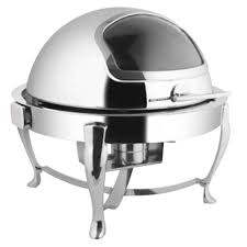 Roll Top Round Chafing Dish1501138806