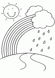 Printable Rainbow Coloring Pages For Kids Rainbows To Color