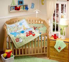 sesame street park crib sets baby bedding
