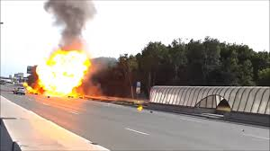 100 Propane Truck Explosion Full Of Gas Cylinders Explode In Highway Russia Firefighting