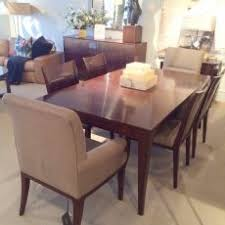 Smart Design Baker Dining Room Chairs Furniture Floor Model SALE Cadieux Interiors Ottawa CLEARANCE Bill Sofield