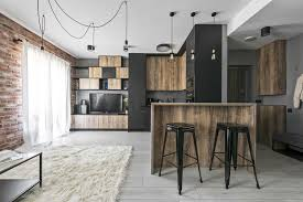 100 Small Modern Apartment Industrial Apartment In Lithuania Gets An Inspiring Update