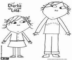 Charlie And Lolathe Sommer Brothers Coloring Page Printable Game