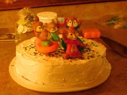 Alvin And The Chipmunks Cake Decorations by Shared Boy Birthday Party Frozen Meets Alvin And The