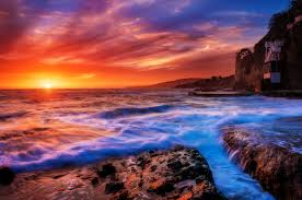Laguna Beach California Sunset Photos