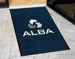 floor mats with logo digiprint rubber backed logo floor mat custom logo door mats