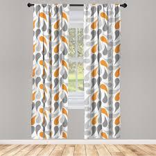 gardine fensterbehandlungen 2 panel set für wohnzimmer schlafzimmer dekor abakuhaus geometrisch traditionelle asiatische kaufen otto
