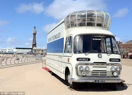 britain u0027s last surviving mobile cinema is up for sale on ebay