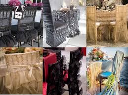 décoration de chaise de mariage