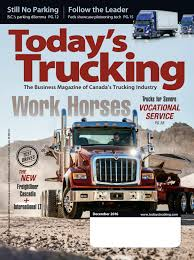 Today's Trucking December 2016 By Annex-Newcom LP - Issuu Nz Trucking Magazine Youtube Steve Bernetts 2013 Peterbilt 389 Ordrive Owner Operators Utah Httpnickpasseycom Cadian Trucking Magazine Home Facebook The Chickenlittle Tactics Behind The Driver Shortage Main Test November Low Ridin Is All Torque Tmp Truck Driver Magazines Free Truck Custom Rigs Test Junes Mack Granite New Subscription To Magazine Magstorenz Transport Issue 110 By Publishing Australia Issuu