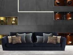 coussins canape quels coussins pour un canapé bleu