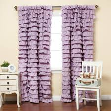 Pink Ruffle Blackout Curtains by Pink Ruffle Home Sweet Home