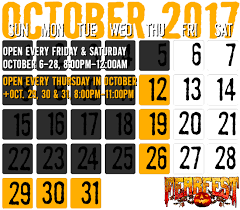 Hartsburg Pumpkin Festival 2015 Dates by Dates U0026 Hours Of Operation For Fear Fest And Necropolis Haunted Houses