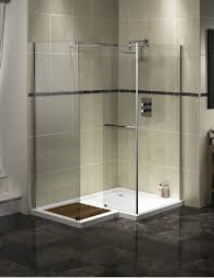walk in shower kits tile versus acrylic enclosure stalls with seat
