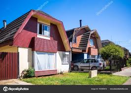 100 Houses In Chile An Houses In Valdivia Stock Photo Wastesoul 163480616