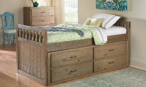 Twin Bed With Trundle Ikea by Bedroom Cool Twin Captains Bed With Storage To Keep Your Bedroom