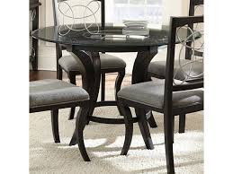 Cayman Round Glass Dining Table With Trestle Base By Steve Silver At  Furniture Superstore - NM Sofia Imaestri Marseille Transitional Upholstered Seat And Back Ding Side Chair By Steve Silver At Wayside Fniture Shollyn Uph 4cn Colette Velvet Violet Grey Silver Ding Room Hollywood Homes Elegant Exquisite Workmanship Series Room Round Tabelegant Table And Chairsbf0104009 Buy Setantique 25 Gray Ideas Bella 5piece Kitchen Set Silverlight Grey Chairs New Fascating Black Sets Vergara Paris 5 Pc 1958 Glam Elegance Del Sol Home Bevelle 18 Inch Leaf