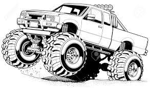100 Truck Rims 4x4 Cartoon