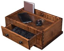 Mens Dresser Top Valet by Cherry Or Oak Men U0027s Valet Box From Dutchcrafters Amish Furniture