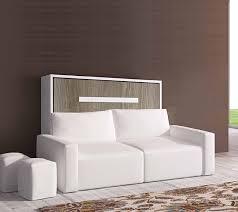 lit avec canapé lit escamotable avec canape integre lit encastrable pas cher el