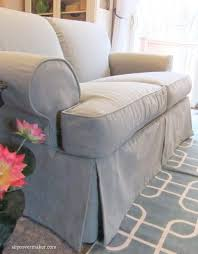 Stretch Slipcovers For Sofa by This Cotton Poly Canvas Is Slipcover Perfect It U0027s Weighty Supple