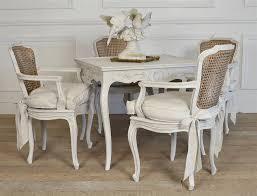 antike stühle mit rohrrücken französische esszimmerstühle