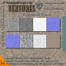 A 1024px Seamless High Resolution Mosaic Tile Floor