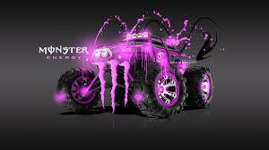 Monster Energy Monster Truck Wallpaper - 1384816