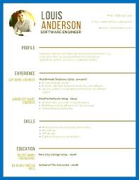 Resume Templates On Canva Combined With Template Professional Software Engineer Simple To Prepare Stunning Modern 747