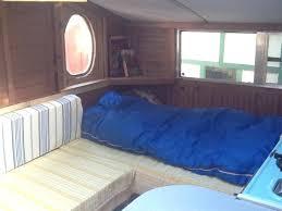 Rv Interior Bedroom Sleeping Area Inside A Small