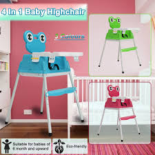 Portable 4 IN 1 Baby Kids Toddler Infant Highchair F
