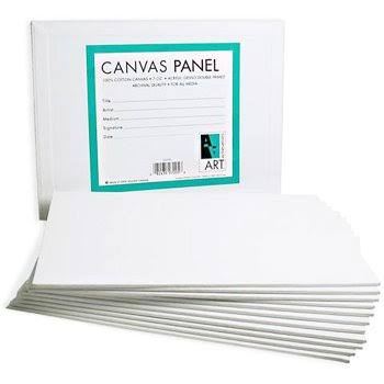 Art Alternatives Canvas Panel - 4x4, 12pk