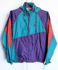 Jacket Nike Windbreaker Blue Purple Pink