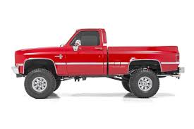 4in Suspension Lift Kit For 77-91 Chevy / GMC 4wd 1500 Pickup / SUV ... Chevygmc 23500 1012 Inch Lift Kit 12017 Lifted Trucks For Sale In Virginia Rocky Ridge Suspension Leveling Kits Ameraguard Truck Accsories Long Beach Ca Signal Hill Lakewood Amazoncom Rough Country 19430 35inch Rancho Tough Dog Ford F250 Suspensionlift Home Of Jacksonville 4x4 We Do Exhaust Work Fabrication Lift Pr 123 1112 Super Duty 8 4link Tcs Lift Kit 12018 Gm 2500hd 68 Stage 2 Cst Performance 2010 Chevrolet Silverado 1500 Lt 44 Crew Cab Supercharged Heavy Hell Stout Lifts With Soft Ride