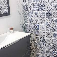 decor tavira glazed ceramic wall tile 150x150mm bathroom wall