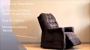 Mega Motion Lift Chair Manual by Lc200 Lift Chair By Mega Motion 720p Youtube