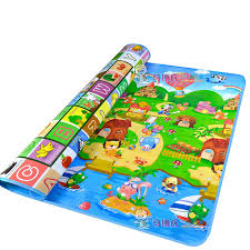 English Letter Alphabet Farm Baby Carpet Playmat Kids Rug Soft