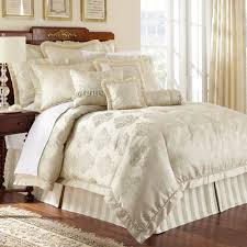 Lush Decor Belle 4 Piece Comforter Set by Luxury Bedding In Champagne Color And Queen Size Comforters