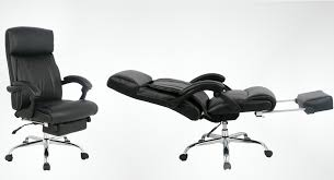 the perfect reclining office chair for that much needed nap at work